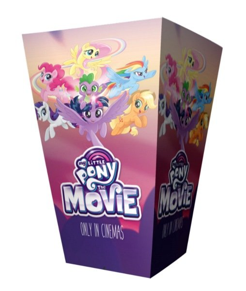 Krabička na popcorn 2,5l My little pony