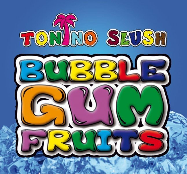 Ledová tříšť sirupový koncentrát - BUBBLE GUM FRUITS